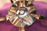 Mossa Wheels Custom Center Cap Chrome (Set of 1) # MS-CAP-L221 Turin-FWD C-730 71222-4