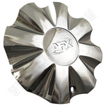 AFX Wheels Chrome Custom Wheel Center Cap # 80222085F-1 (4 CAPS)