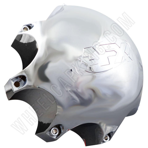 AFX Wheels Chrome Custom Wheel Center Cap # 80292010F-2 (4 CAPS)