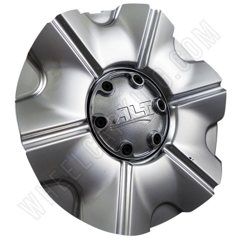ALT Wheels Silver Custom Wheel Center Cap # AT213 (4 CAPS)