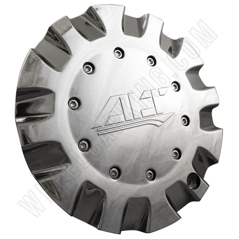 ALT Wheels Chrome Custom Wheel Center Cap # AT299 (4 CAPS)