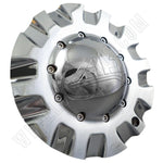ALT Wheels Dome Chrome Custom Wheel Center Cap # AT299 (1 CAP)