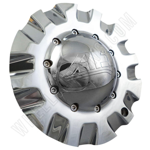 ALT Wheels Dome Chrome Custom Wheel Center Cap # AT299 (4 CAPS)