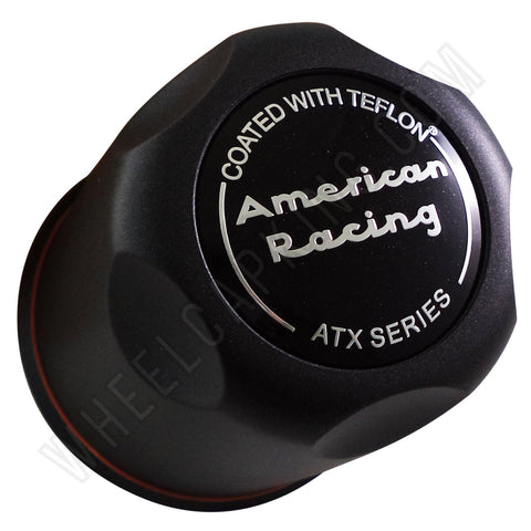 AMERICAN RACING ATX BLACK Custom Wheel Center Cap # 1327006022 (1 CAP)