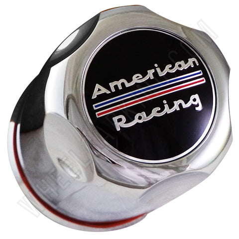 American Racing Chrome Custom Wheel Center Caps # 1327000 (4 CAPS)