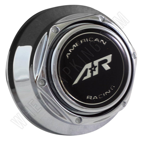 American Racing Wheels Chrome Custom Wheel Center Caps # AR-401 (1 CAP)