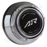American Racing Wheels Chrome Custom Wheel Center Caps # AR-401 (4 CAPS)