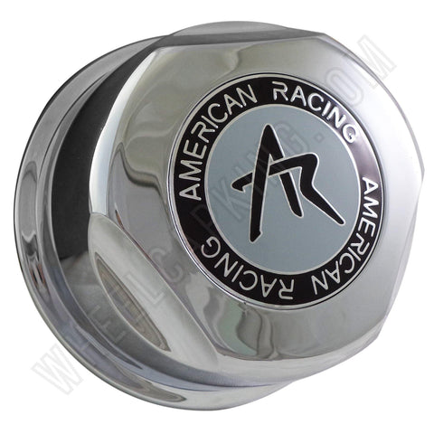 American Racing Wheels Chrome Custom Wheel Center Cap # 1307100S / CAP F-050 (4 CAPS)