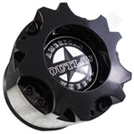 American Outlaw Wheels Gloss Black Custom Wheel Center Caps # BC-893 (4 CAPS)