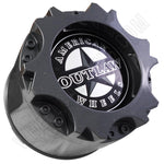 American Outlaw Wheels Gloss Grey Custom Wheel Center Caps # BC-894  (4 CAPS)