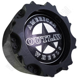 American Outlaw Wheels Gloss Grey Custom Wheel Center Cap # BC-895 (4 CAPS)