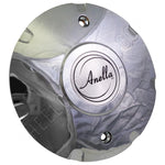 Anella Wheels Chrome Custom Wheel Center Cap # 31158 / C158 (4 CAPS)
