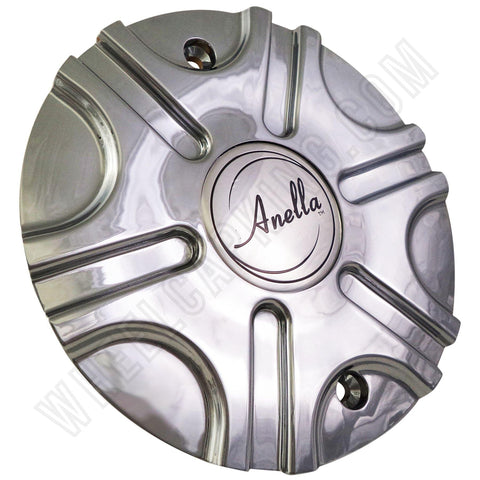 Anella Wheels Chrome Custom Wheel Center Cap # C165 (4 CAPS)