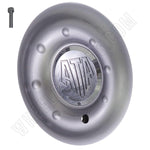 ATA Wheels Silver Custom Wheel Center Caps # H-40 (1 CAP)