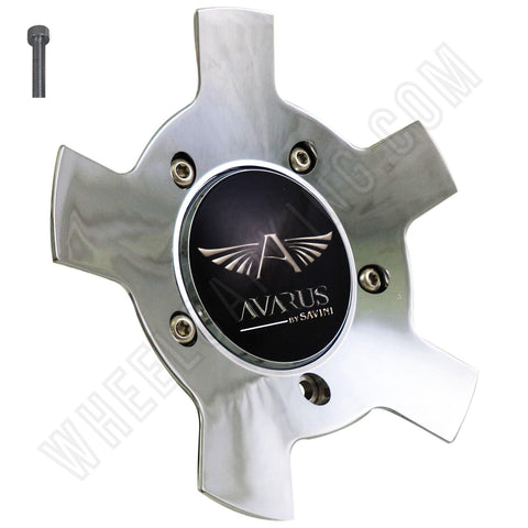 Avarus # MS-CAP-Z214 Chrome Custom Wheel Center Cap (1 CAP)