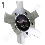 Avarus # MS-CAP-Z214 Chrome Custom Wheel Center Cap (2 CAPS)
