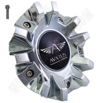 Avarus # MS-CAP-Z216 / Z215 / AV-3 Chrome Custom Wheel Center Cap (4 CAPS)