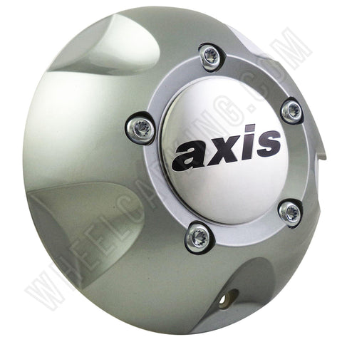 Axis Vortex Wheels Silver Custom Wheel Center Cap Caps Set of 1 # ALT