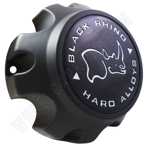 Black Rhino CAP M-788/C609803 Matte Black Wheel Center Cap (4 CAPS)