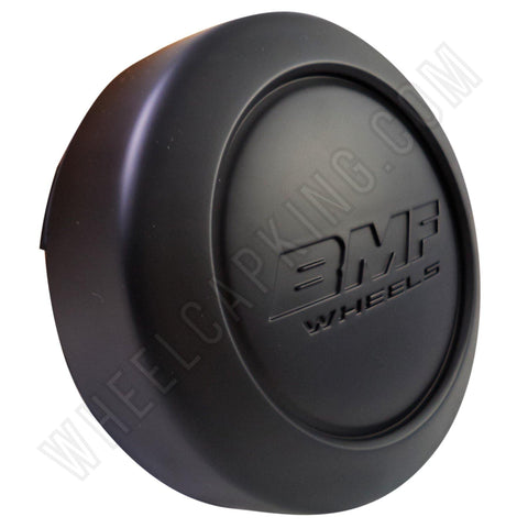 BMF Wheel Center Caps Flat Black SHORTY- Fits All 8 LUG (4 CAPS) W/2 Sets Logos
