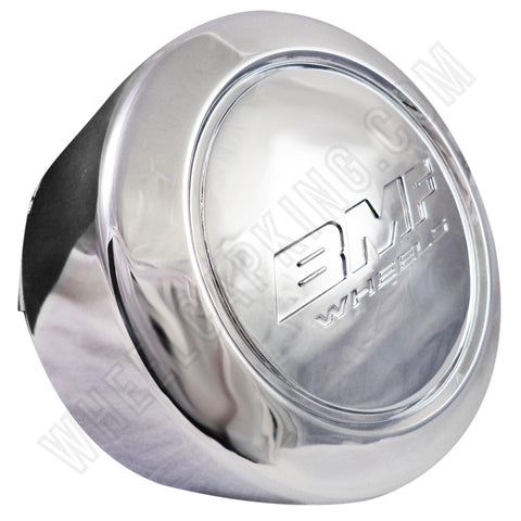 BMF Wheel Center Caps Chrome TALL - Fits All 8 LUG (4 CAPS) W/2 Sets Logos