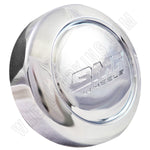 BMF Wheel Center Caps Chrome - Fits All 6 LUG (4 CAPS) W/2 Sets Logos