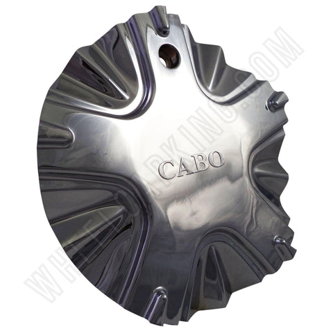 CABO Wheels Chrome Custom Wheel Center Cap Set of FOUR # 302L185