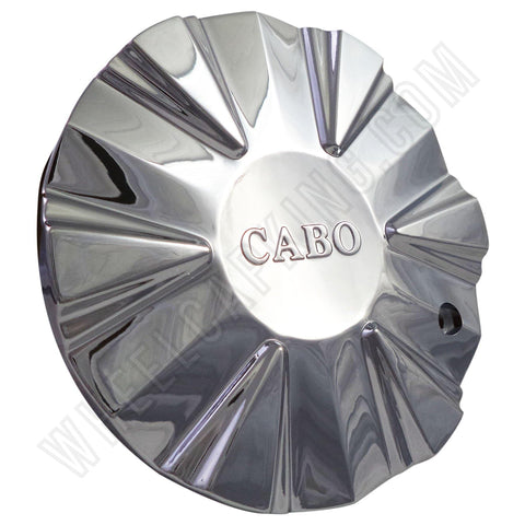 CABO Wheels Chrome Custom Wheel Center Caps # 563-CAP NEW! (SET OF 4)