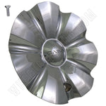 Cabo Wheels Chrome Custom Wheel Center Cap # C-176-1 (1 CAP)