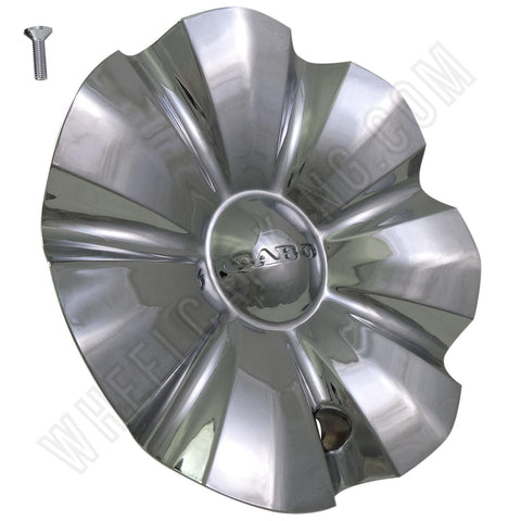 Cabo Wheels Chrome Custom Wheel Center Caps # C-176-1 (4 CAPS)