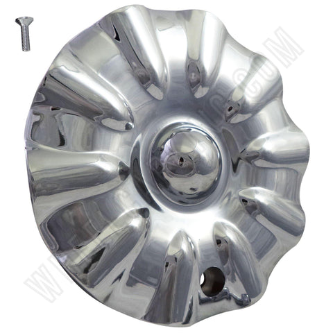 Limited Wheels Chrome Custom Wheel Center Caps Set of 4 # L820 NEW!