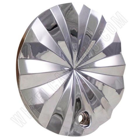 "Polo Wheels Chrome Custom Wheel Center Caps Set of 4 # T820-17"".18"" NEW!"