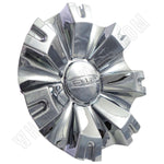 Dip Wheels Chrome Custom Wheel Center Caps Set of 4 # C10D88C / MCD8286YA01