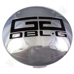 Double G Wheels Chrome Custom Wheel Center Cap # 126K81 / 126K532A (4 CAPS)
