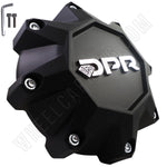 DPR Wheels Flat Black Custom Wheel Center Cap Caps Set of 1 # A01-Z-CAP NEW!