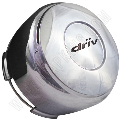 Driv Wheels 1000-54/1000-77 Chrome Custom Wheel Center Caps (1 CAP)