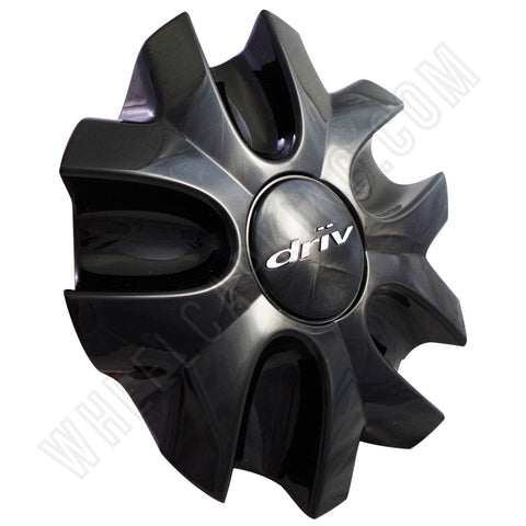 DRIV # 7880-15 Gloss Black Custom Wheel Center Cap (4 CAPS)