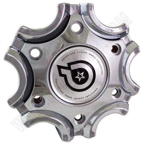 Dropstars Wheels Chrome Custom Wheel Center Cap # DS05260011-1 NEW!