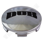 Dub Wheels Chrome Custom Wheel Center Cap # 1001-62 (1 CAP)