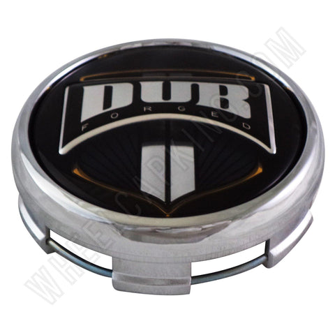 DUB Wheels Chrome Custom Wheel Center Cap # 1001-92 (1 CAP)