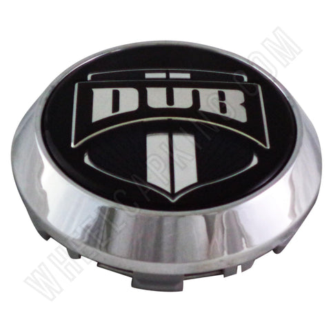 DUB Wheels /'Floater/' Chrome Custom Wheel Center Cap # 1002-35-C NEW 1 CAP