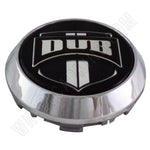 DUB Wheels 'Floater' Chrome Custom Wheel Center Cap # 1002-35-C (4 CAPS)