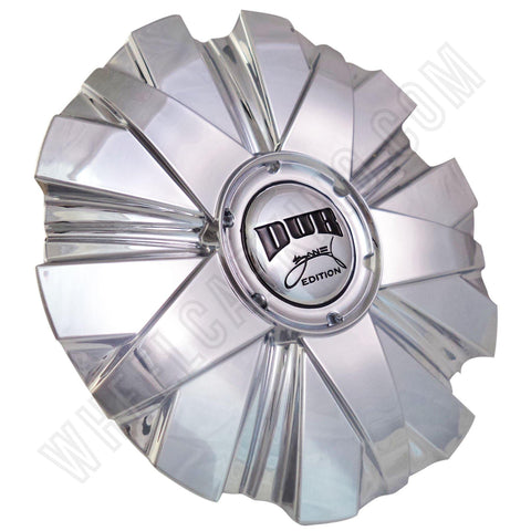 DUB Wheels Zane Edition Chrome Custom Wheel Center Caps Set of 1 # 6280-15 CAP