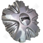 Dub Wheels Chrome Custom Wheel Center Cap # 8070-15 (1 CAP)