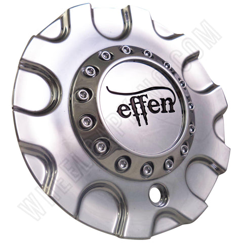 Effen Wheels C-363 Chrome Custom Wheel Center Caps (4 CAPS)