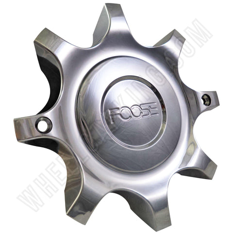 FOOSE Wheels Chrome Custom Wheel Center Caps # 4500-55 (1 CAP)