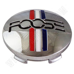 Foose Wheels Chrome Custom Wheel Center Cap # 1003-41 / M-858 (4 CAPS)
