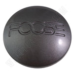 Foose Wheels Grey Custom Wheel Center Cap # 1001-13 / 7810-15 (1 CAP)
