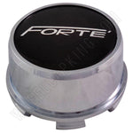 Forte Wheels Chrome Custom Wheel Center Cap # C3110001 (4 CAPS)