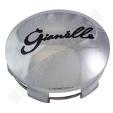 Gianelle Wheels Chrome Custom Wheel Center Cap # 935K75 / A0159 (4 CAPS)